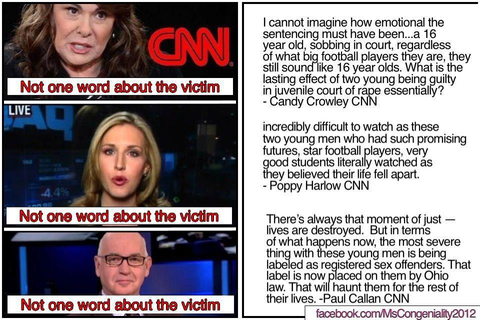 CNN rape verdict