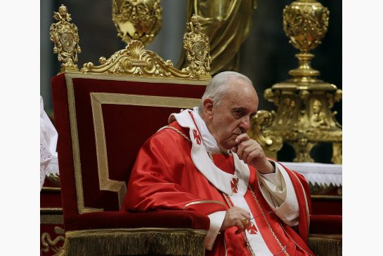 """9/19 """"Pope Says Stop Advocating against Abortion""""; 9/20 """"Pope Advocates Against Abortion"""""""