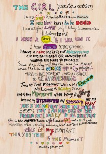 girl declaration