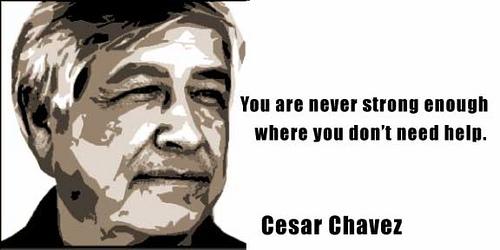 cesar chavez biography essays