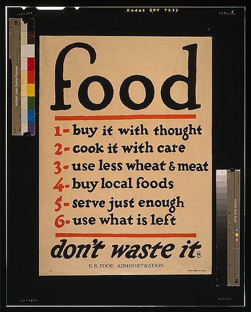 The Everday Ascetic: Considering Food Waste in the US