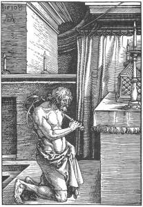 Albrecht_Dürer_-_The_Penitent_-_WGA7169