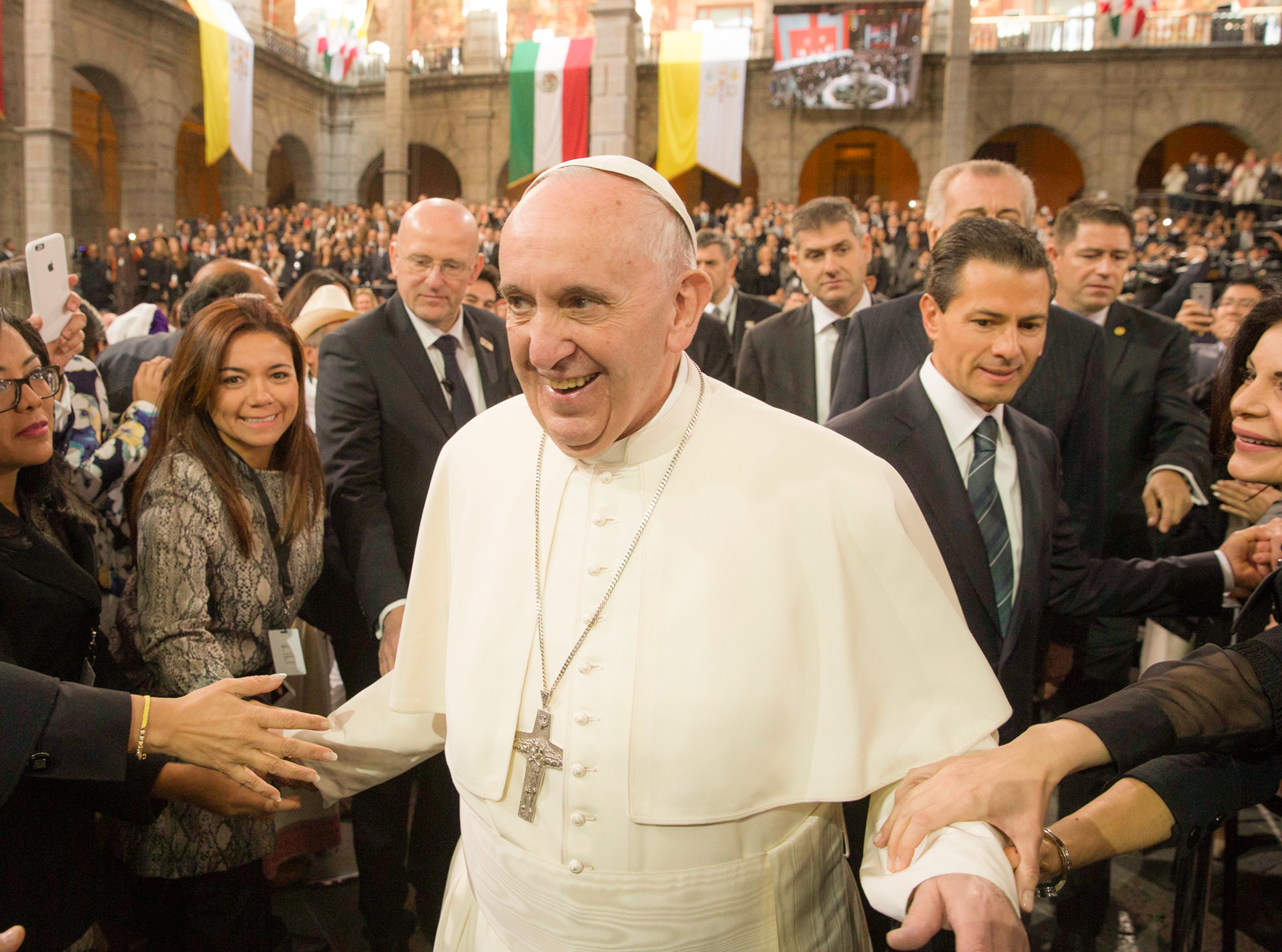 Pope Francis Gets Political in Mexico