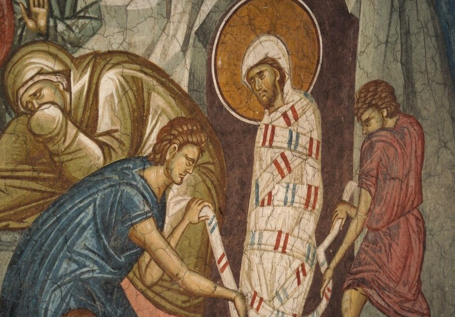 5th Sunday of Lent: Unbinding Those Captive to Death